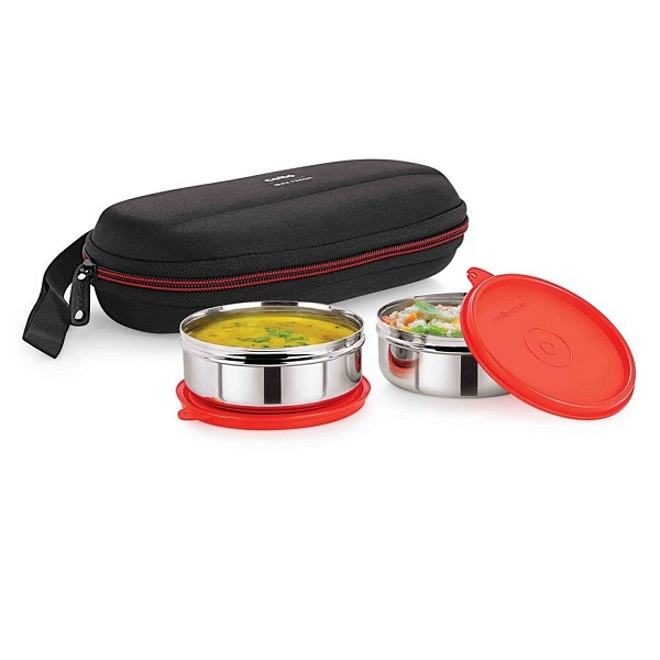Cello Max Fresh Super Steel Lunch Box Set
