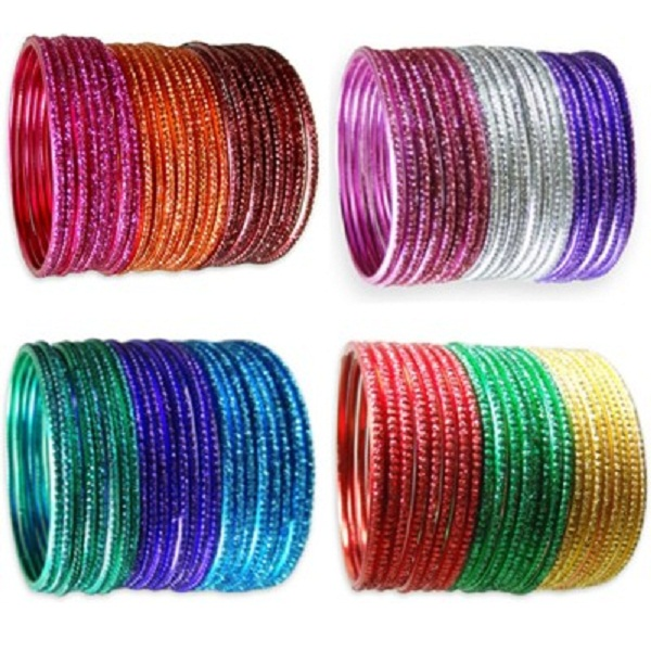Hi Look Alloy Bangle Set Pack of 4