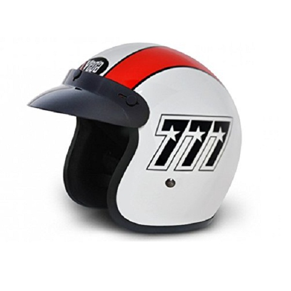 Vega Jet 777 Open Face Graphic Helmet