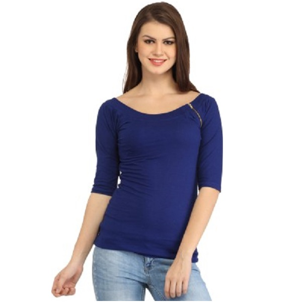 Cation Casual Womens Blue Top