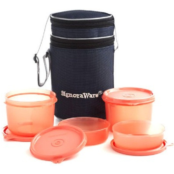 Signoraware 4 Containers Lunch Box