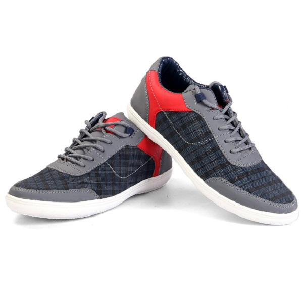 Freedom Daisy Mens Gray Casual Shoes