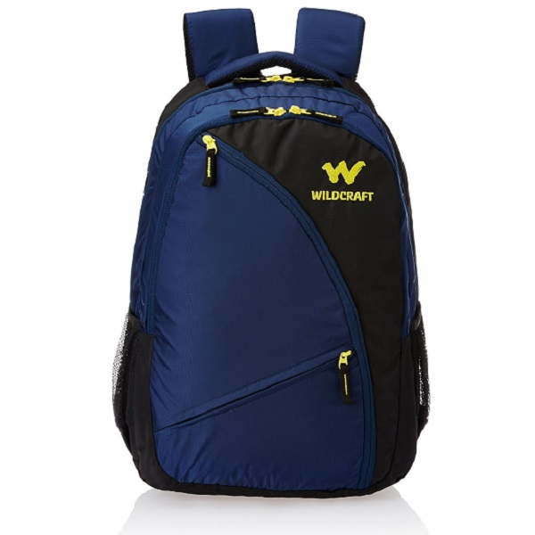 Wildcraft Polyester Blue Laptop Bag