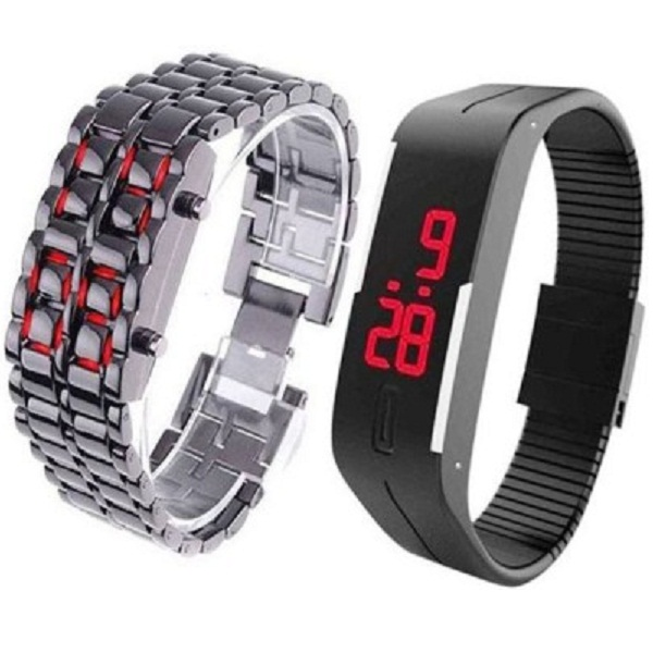 Zdelhi LED COMBO TRENDY Digital Watch