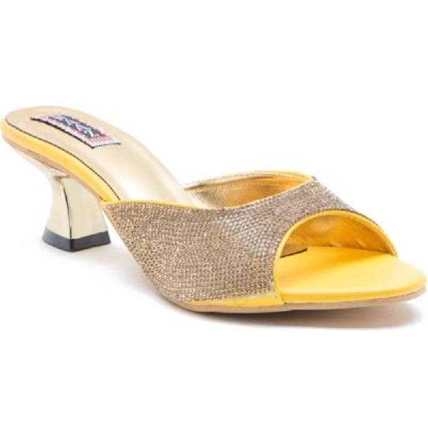 Naaz Women Yellow Heels