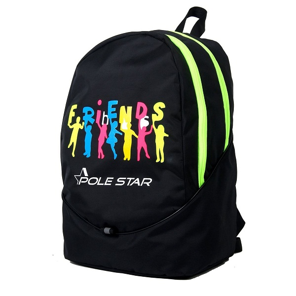 Pole Star 30 Litres Black Casual Backpack