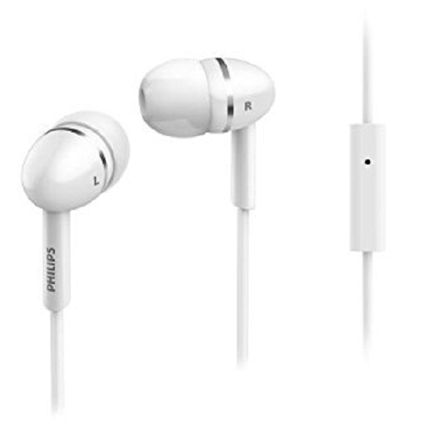 Philips SHE1455WT In Ear Headphone With Mic