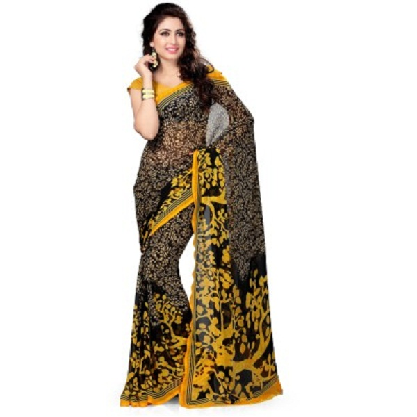 Vaamsi Printed Daily Wear Georgette Sari