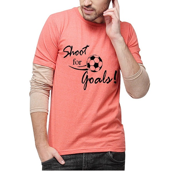 Campus Sutra Men Printed Full Sleeves Sheldon T Shirts