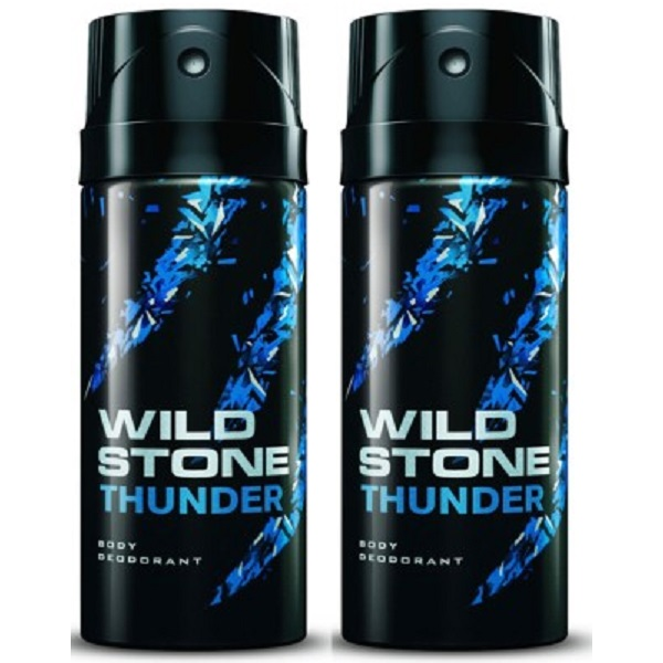 Wild Stone Thunder Deodorant Spray Combo Set