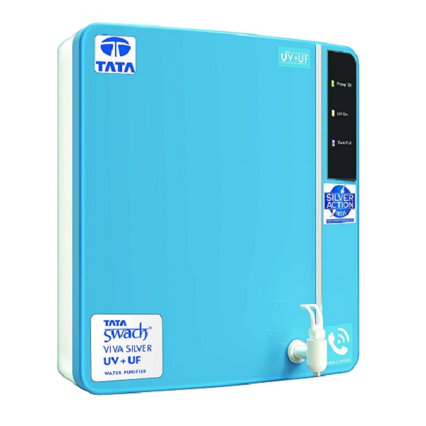 Tata Swach Viva Silver UV UF Wall Mounted 6 LitreWater Purifier