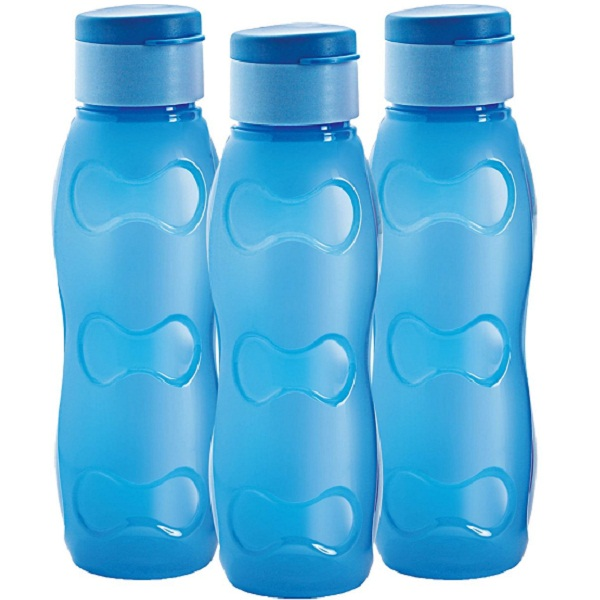 Set of 3 Cello Nano Flip Polypropylene Bottle Set