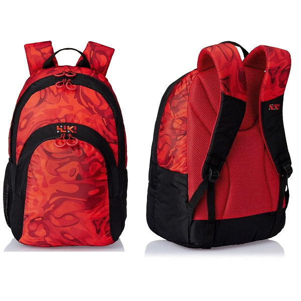 Wiki by Wildcraft Red Casual Backpack