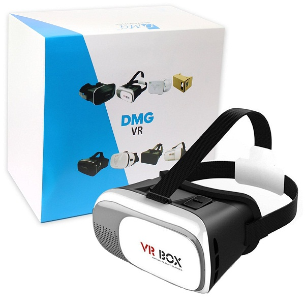 DMG VR Box 2nd Generation Enhanced Version Virtual Augmented Reality Cardboard 3D Video Glasses Headset