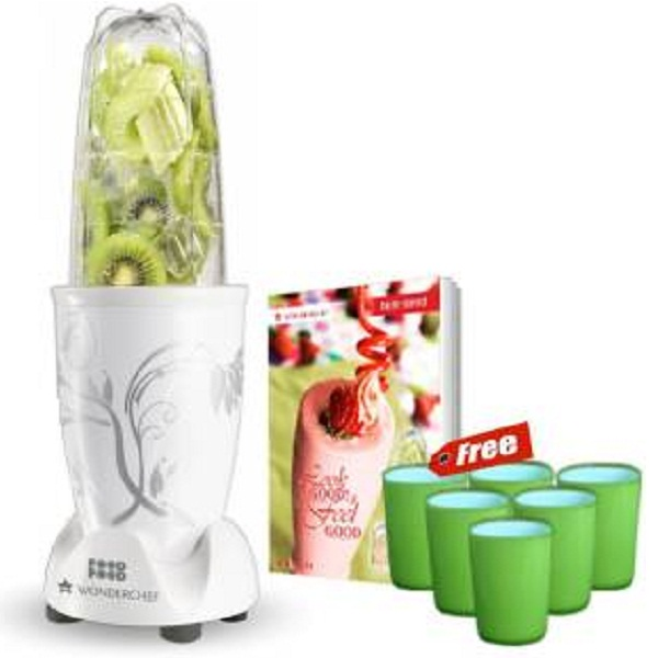 Wonderchef Nutri Blend 400 W Juicer Mixer Grinder