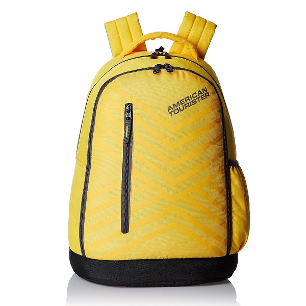 American Tourister Ebony Yellow Casual Backpack