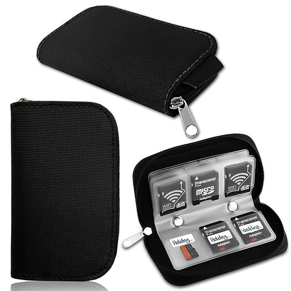 Memory Card Case Holder Pouch