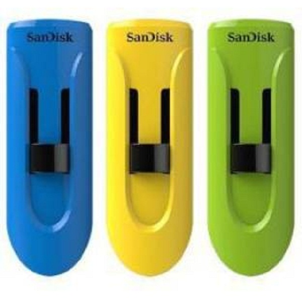 SanDisk Cruzer Glide 16 GB Pack of 3 16 GB Pen Drive