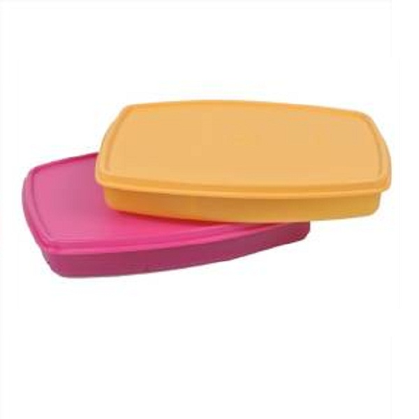 Tupperware Slim 2 Containers Lunch Box