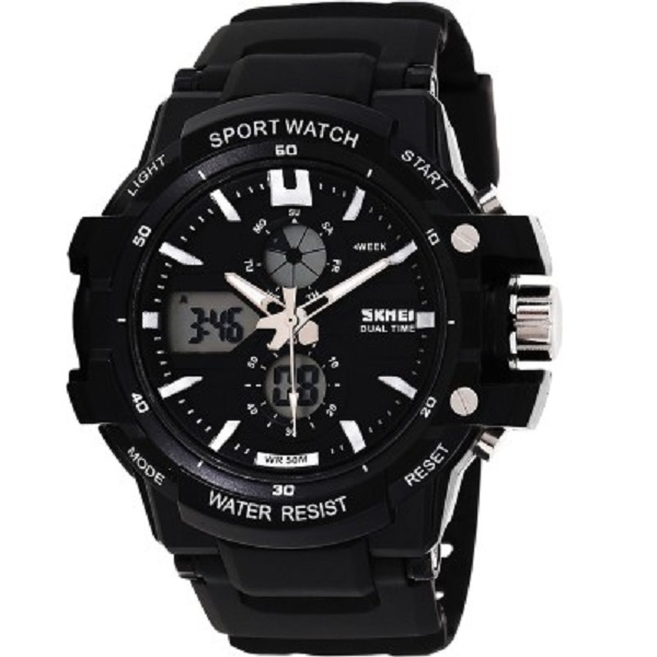 Skmei Mens Analog Digital Watch