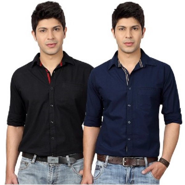Top Notch Mens Shirt Pack of 2