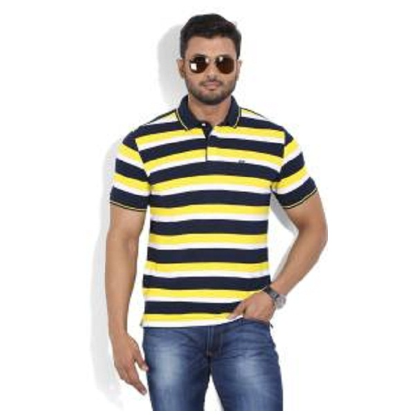 Arrow Sports Striped Mens Polo T shirt