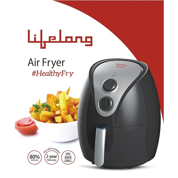 Lifelong Plastic HealthyFry 1350 Watt Air Fryer