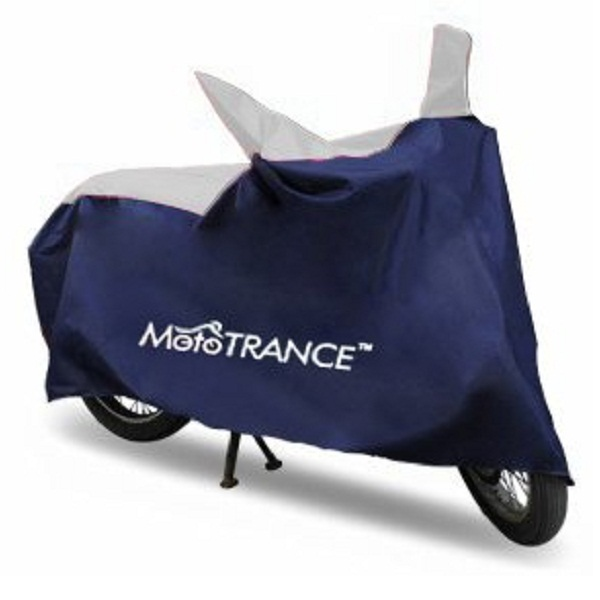 Mototrance MT800338 Sporty Blue Universal Bike Body Cover