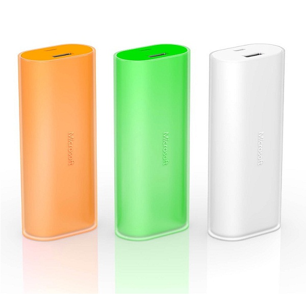 Microsoft Power Bank 6000 mAh Orange