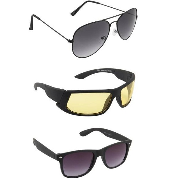 IRAYZ Aviator Multicolor Sunglasses