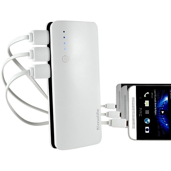 4th Gen Fast Charging 10400 mAh Power Bank With Original Samsung LI Ion Cells With Led Indicators
