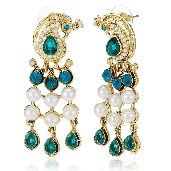 Ava Traditional Drop Earrings for Women