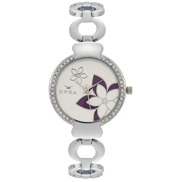 XPRA Analog White Dial Womens Watch