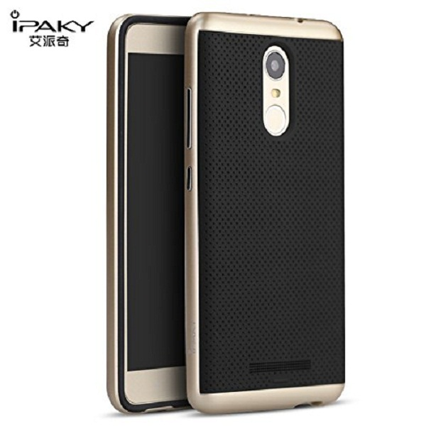 iPaky Hybird Armor Protective Back Bumper Case Cover for Xiaomi Redmi Note 3