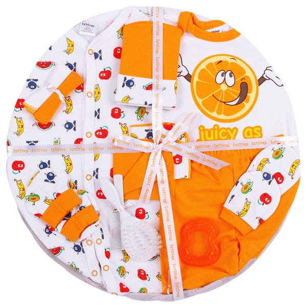 1st Step Baby 14 Pieces Basket Gift Set