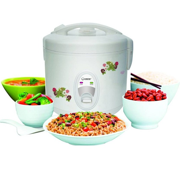 Ovastar OWRC 2040 Electric Rice Cooker with Steaming Feature