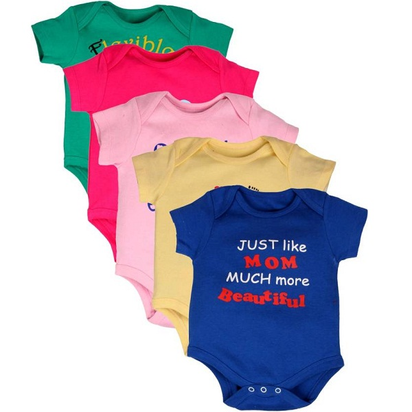 Gkidz Baby Boys Multicolor Bodysuit
