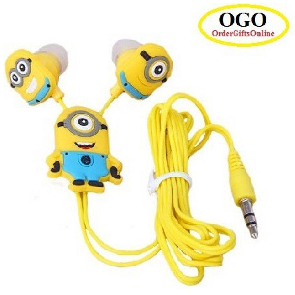 OGO Despicable Me Stuart Minions Earphones