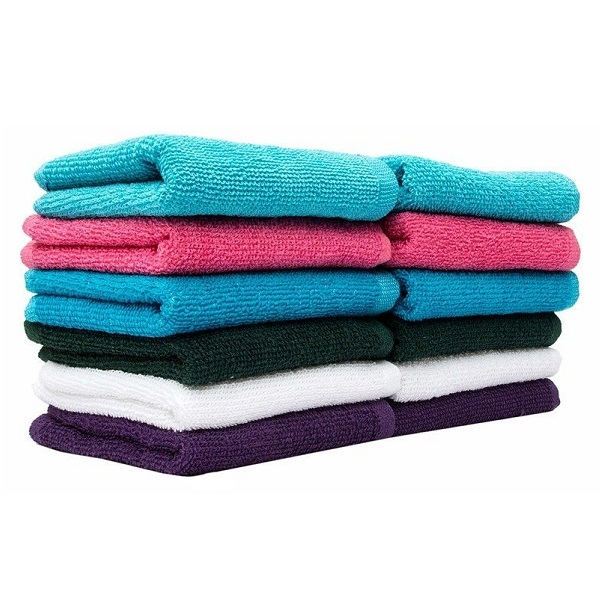 Casa Copenhagen Basics Set Of 10 Pcs Face Towels