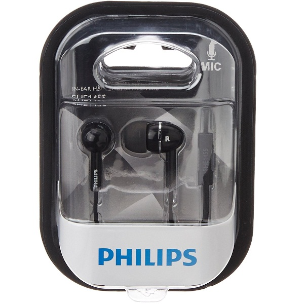 Philips SHE1455BK In Ear Headphone With Mic