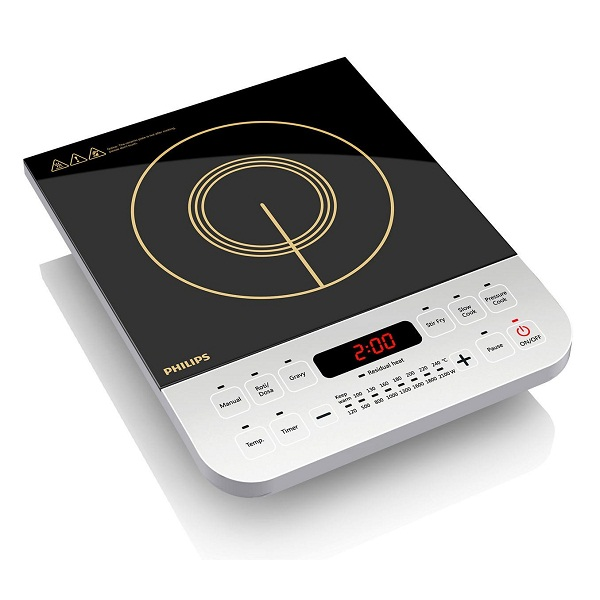 Philips Viva Collection HD4928 2100 Watt Induction Cooktop