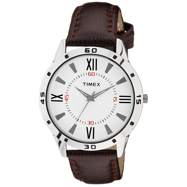 Timex Analog Off White Dial Mens Watch