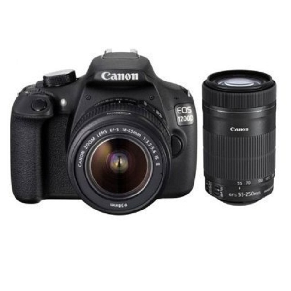 Canon EOS 1200D 18MP Digital SLR Camera With Lens 8GB card and Carry Bag