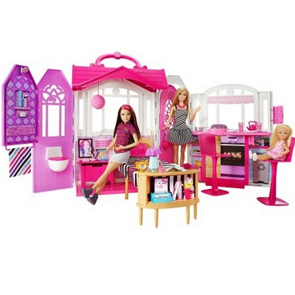 Barbie Glam Gateway House with Doll