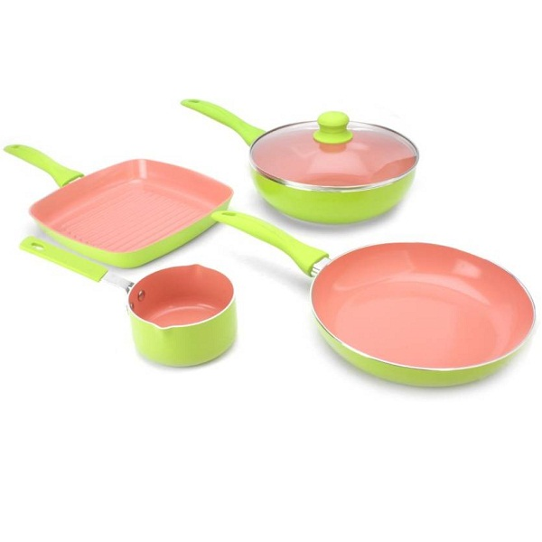 Wonderchef Oxford Set with Free Sauce Pan Cookware Set