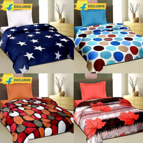Cortina Printed Single Blanket