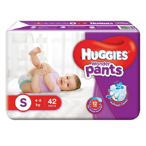 Huggies Wonder Pants Small Diapers 42 Count