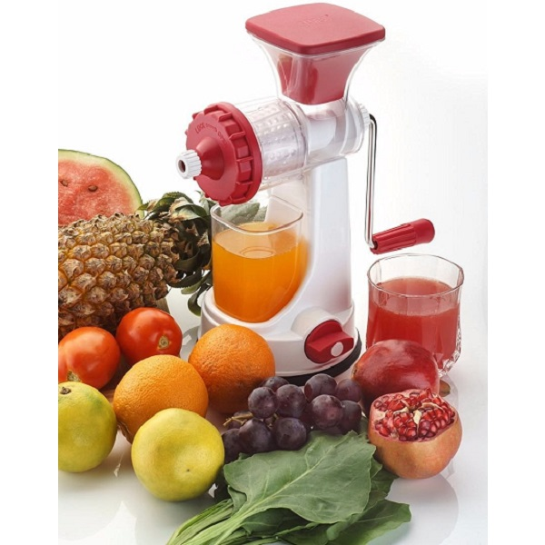 Ganesh Fruits And Vegetable Juicer With Steel Handle Multicolor