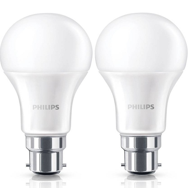 Philips B22 Pack of 2 LED 13 W Bulb