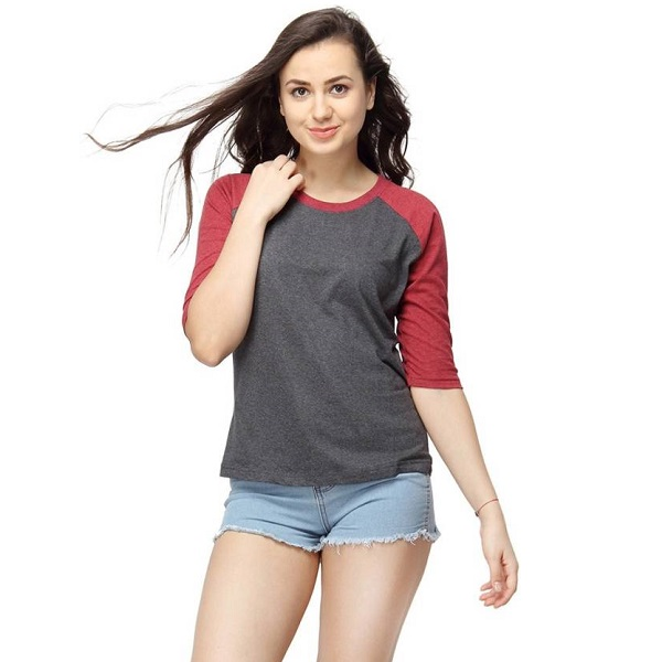Campus Sutra Casual Maroon Top